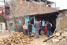 Piura: damnificados por sismo se beneficiarán con bonos Techo Propio