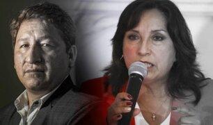 Dina Boluarte arremetió contra la prensa tras consulta sobre Guido Bellido
