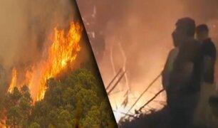 Tarapoto: Incendio forestal es controlado por Bomberos