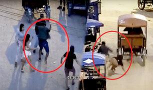 Pucallpa: delincuente aprovecha distracción de joven para robar celular