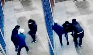 Comas: golpean violentamente a hombre para robarle su celular