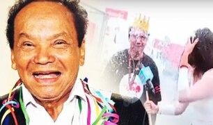 Melcochita celebra sus 85 años en D´Mañana
