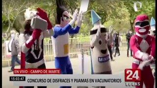 Ministerio de Salud lanza concurso de disfraces y pijamas para promover la vacunación