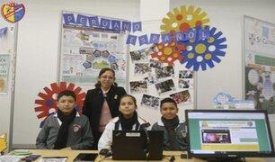 Maestra peruana figura entre los 50 mejores profesores del mundo