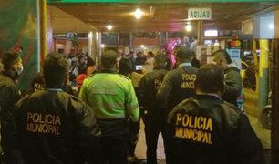 Fiesta en el Callao: intervienen a 300  personas por incumplir medidas sanitarias contra la Covid-19