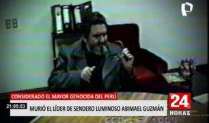 Murió Abimael Guzmán, líder de Sendero Luminoso