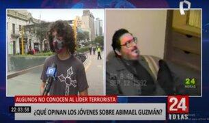 Abimael Guzmán: algunos jóvenes no conocen al líder terrorista