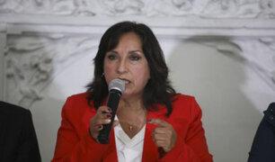 "Dina Boluarte sobre Bellido: ""Tendrá que responder por la forma de su comunicado"""
