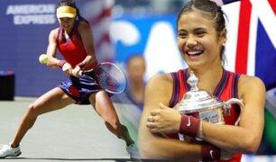 Tenis: Británica Emma Raducanu gana el US Open