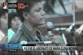 La historia detrás del asesinato de María Elena Moyano