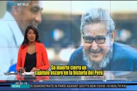 Cómo el mundo informó la muerte de Abimael Guzmán