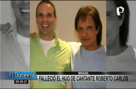 Muere Dudu Braga, el hijo de Roberto Carlos