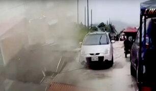 San Martín: fuertes ráfagas de viento y lluvias dejan varias casas sin techo