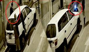 Chorrillos: aprovechan toque de queda para robar vehículo