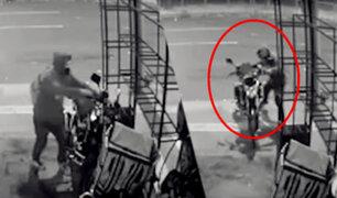 San Luis: delincuente desactiva alarma para robar costosa motocicleta