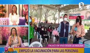 Vacunatorio de La Molina: Gran cantidad de jóvenes llegan para inmunizarse contra la Covid-19