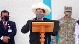 """Presidente Castillo pide parar dimes y diretes: """"Rechazamos los actos de corrupción y terrorismo"""""""