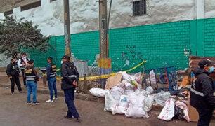 Independencia: tres sujetos, presuntamente drogados, matan a golpes a joven reciclador