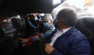 Terrorista 'Bertha' llega a la morgue del Callao para retirar restos  de Abimael Guzmán