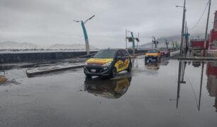 Moradores alarmados: oleajes anómalos inundan varias calles de Chimbote y Casma