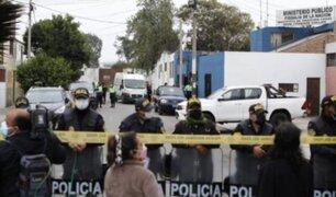 Manifestaciones en la Morgue del Callao tras muerte de Abimael Guzmán