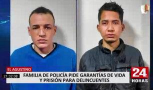 El Agustino: suboficial PNP es baleado por defender a familia de asalto