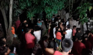 Conmoción en Loreto: joven mata a su abuelo a palazos y luego quema el cuerpo