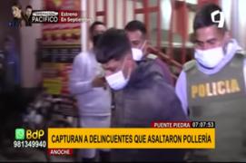 Puente Piedra: capturan a delincuentes que asaltaron pollería