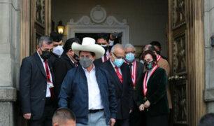 Presidente Castillo citó esta noche a ministros de Estado para reunión en Palacio de Gobierno