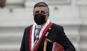 """Paredes: """"El dictamen que suspende las elecciones para el 2022 es por la emergencia sanitaria"""""""