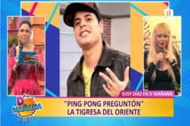 """Picantitas del Espectáculo: Susy Díaz en """"Ping Pong Preguntón"""""""
