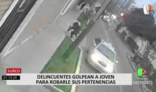 Surco: mujer fue arrastrada por ladrones para robarle