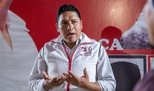 """Ilich López: """"AP votará a favor de que se admita a debate la moción de interpelación a Maraví"""""""