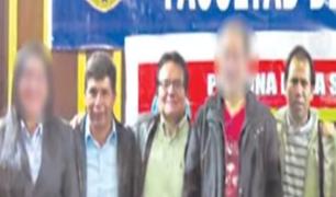 Denuncian que maestros que acompañaban a Pedro Castillo homenajean a Abimael Guzmán
