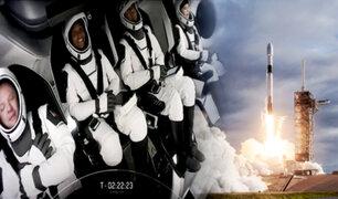 EEUU: Spacex lanza con éxito primer viaje comercial con civiles