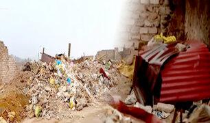 Cercado: hospital Mogrovejo lidia con basural en sus alrededores