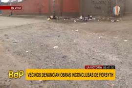 La Victoria: vecinos denuncian obras que llevan varios meses inconclusas