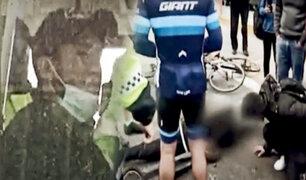 Miraflores: chofer que atropelló a joven en scooter tiene seis papeletas