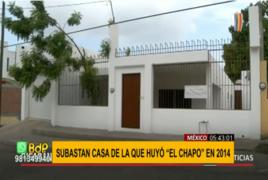 "México: rifarán casa de la que huyó ""El Chapo"" Guzmán en 2014"