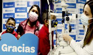 Hospital Almenara: novedoso tratamiento salva a menor de cáncer ocular