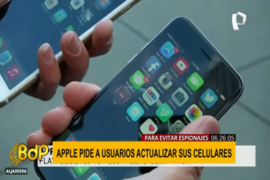 Apple pide a usuarios actualizar sus celulares para evitar espionajes