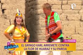 Las Picantitas del Espectáculo: Gringo Karl opinó sobre la nueva relación de Flor de Huaraz