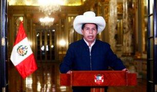"""Castillo: """"Cualquier renegociación se dará con respeto irrestricto al estado de derecho"""""""
