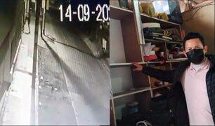 Los Olivos: roban más de 30 mil soles en tienda de melamina
