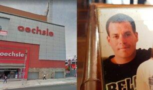 Tienda Oechsle responde tras extraña muerte de cliente