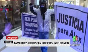 Familiares de hombre que falleció al interior de centro comercial exigen justicia