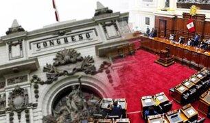 Congreso de la República aprobó texto sustitutorio sobre cuestión de confianza