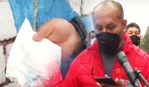 "Ministro de Transportes visita zona afectada por ""Polvillo Negro"" en el Callao"