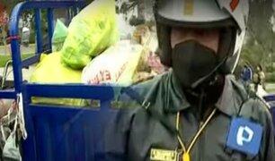 Surco: realizan operativo contra mototaxis y triciclos que circulan por la Panamericana Sur
