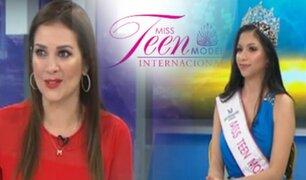 """""""Miss Teen Model Internacional 2021"""" se realizará en el Cusco"""
